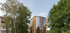 Компания «Эльба» - девелопер и инвестор проекта, сдает в эксплуатацию ЖК «Дом у Березового сада» в Петербурге