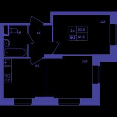 Фото планировки Большое Путилково от Группа Самолет. Жилой комплекс Bolshoe Putilkovo