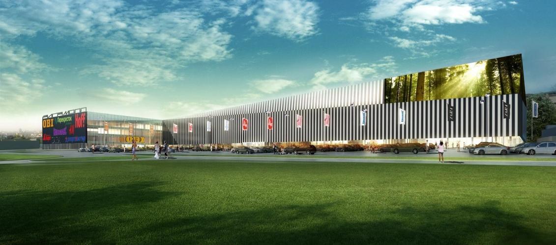 До середины 2016 года на Новорижском шоссе откроется новый торговый центр