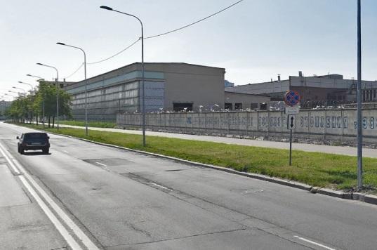 Setl Group готовит стройплощадку под жилой дом на месте завода на Кузнецовской