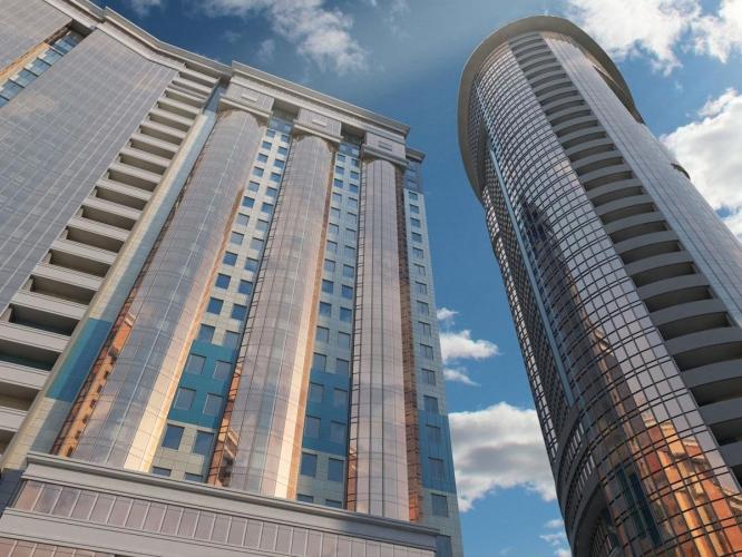ЖК «Петр Великий» в Рыбацком признали самым высоким строящимся жильем в Петербурге