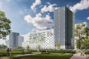 Фото ЖК In2It от Plaza Lotus Group. Жилой комплекс Интуит