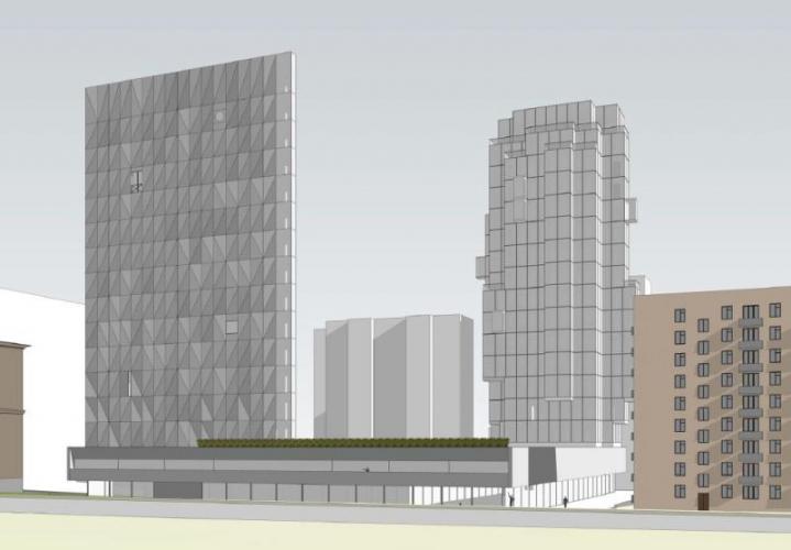 Архитектурный совет Москвы одобрил проект ЖК петербургской ГК «РосСтройИнвест» на месте бывшего хлебозавода