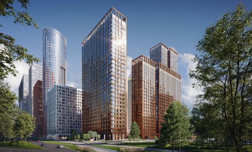 ГК ФСК построит более 400 тыс. кв. метров жилья на северо-западе Москвы