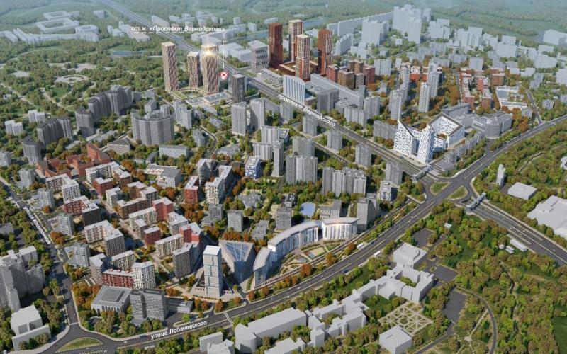 Этажность новостроек реновации на проспекте Вернадского снизили по просьбам москвичей