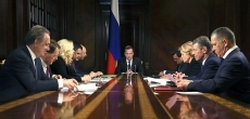 Премьер Медведев напомнил о необходимости снижения ипотечных ставок