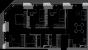 Планировка ЖК «D1», 44.6 м2