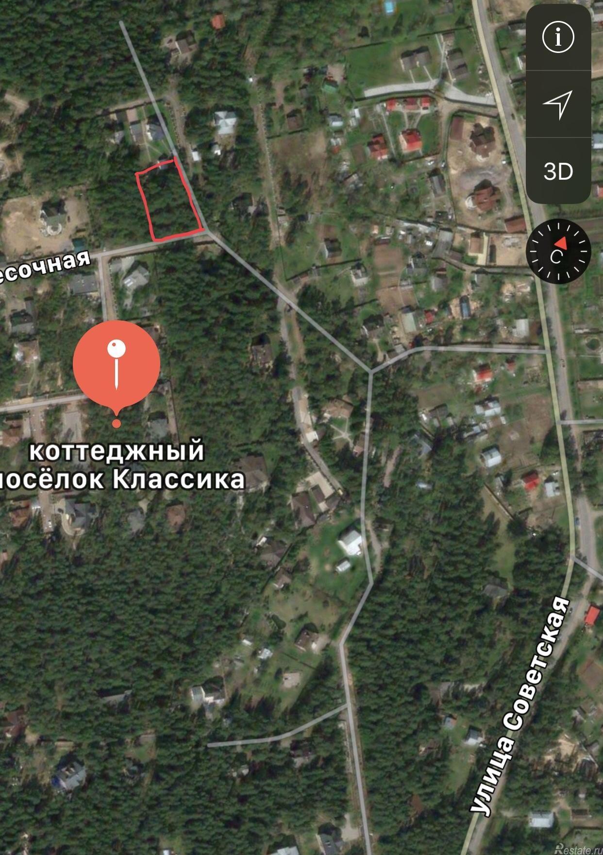 Продать Земельные участки, земля Санкт-Петербург,  Курортный,  Старая деревня, Репино п, Песочная ул