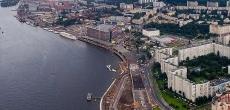 Продолжение набережной Макарова – теперь проспект Крузенштерна