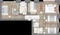 Планировка ЖК «One Trinity Place», 49.8 м2