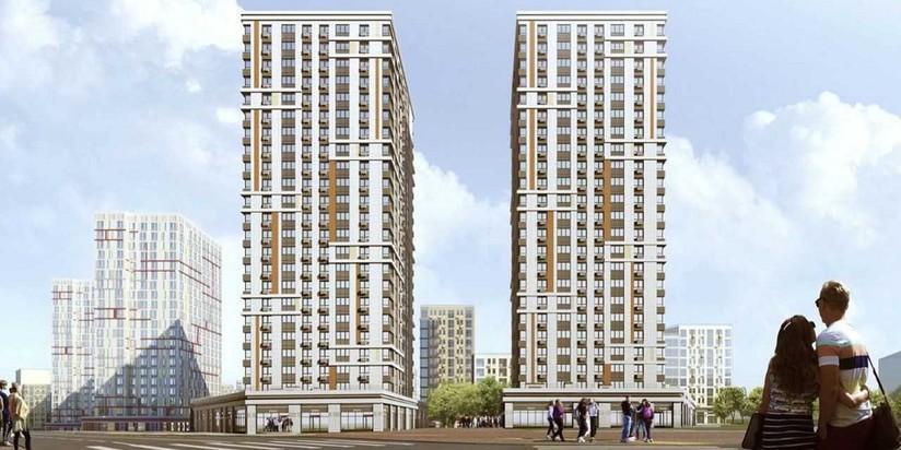 На юге Москвы в Москворечье-Сабурово возведут две симметричные жилые башни
