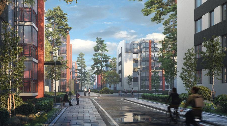 Начались продажи квартир во второй очереди UP-квартала «Пушкинский»