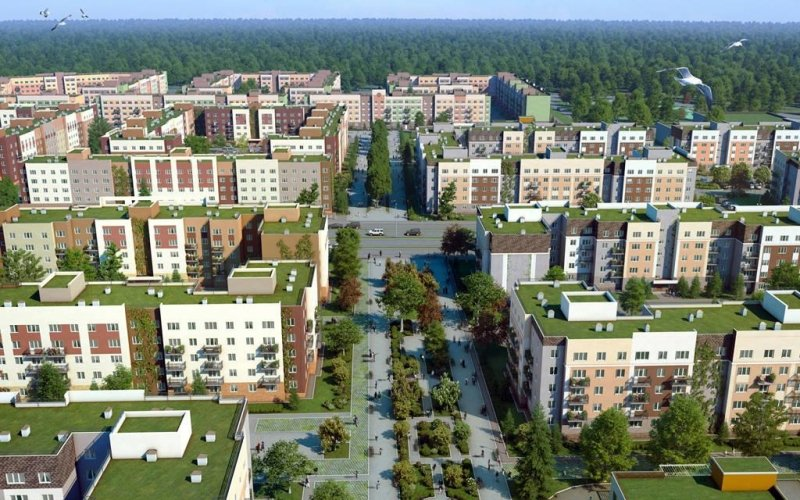 Смольный разрешил компаниям «Главстрой-СПб» и «Парк Бабушкина» в обмен на социальные объекты отклониться от положенной высоты объектов