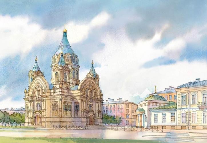 РПЦ хочет воссоздать разрушенную в СССР Борисоглебскую церковь в Петербурге