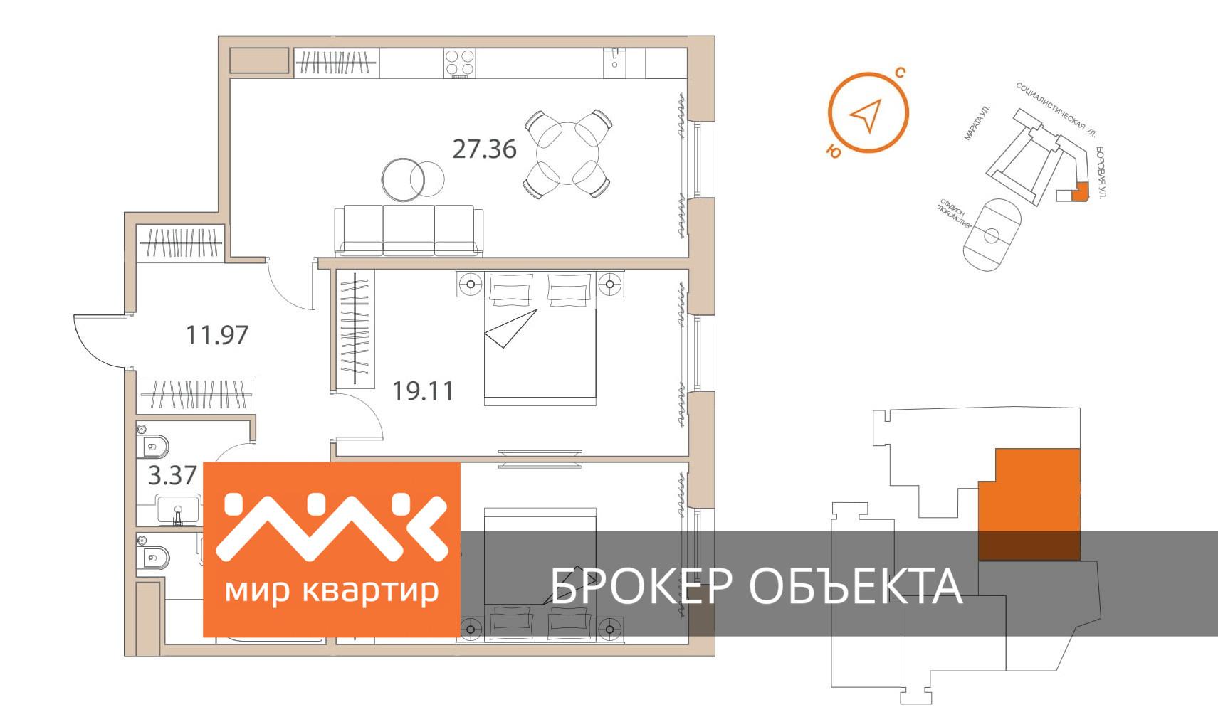 Продать Квартиры в новостройке Санкт-Петербург,  Центральный,  Звенигородская, Боровая ул