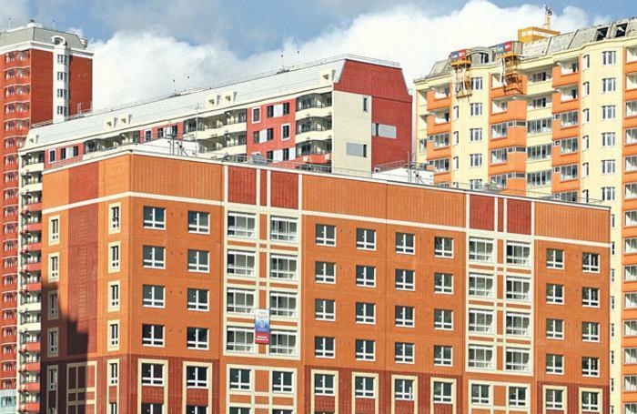 По итогам полугодия самый большой объем ввода жилья зафиксирован в Московской области