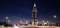 Alcon Tower представляет концепцию использования подсветки для украшения городской панорамы