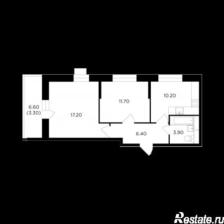 Продать Квартиры в новостройке Московская область,  Пушкинский, мкр. «Новая Деревня»,
