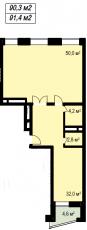 Фото планировки Акварели от TEKTA GROUP. Жилой комплекс Akvareli