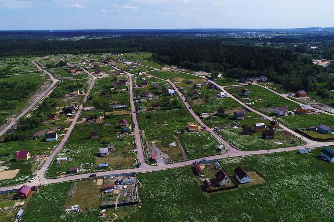 Фото коттеджного поселка Новая Екатериновка от Петербургские Просторы. Коттеджный поселок