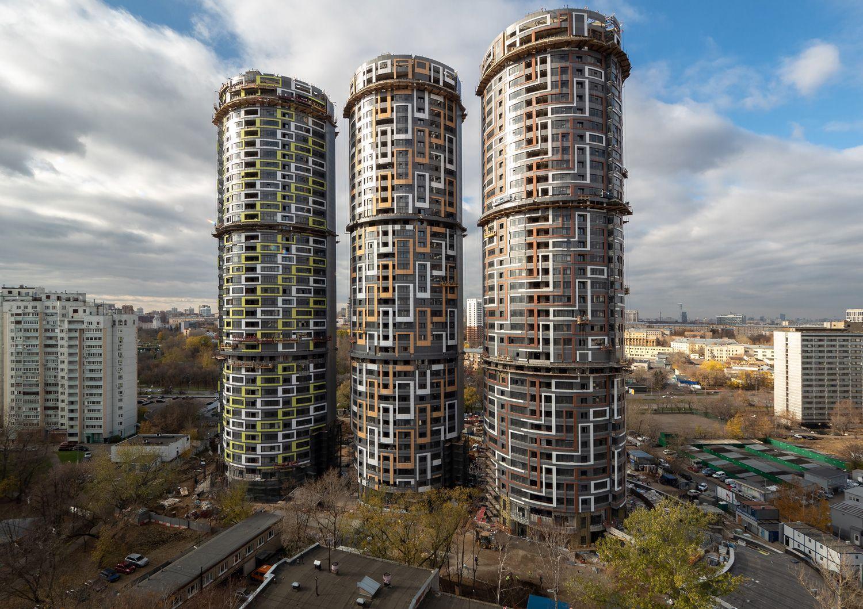 Фото ЖК Новые Черемушки от СУ-155. Жилой комплекс Novye Cheremushki