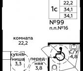 Продать Квартиры в новостройке Россия, 1-я Магистральная улица, 25