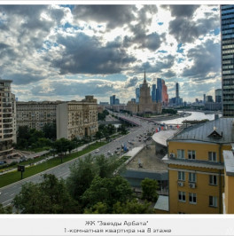 Продажа 1-комн квартиры в новостройке Новый Арбат, 32