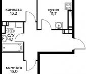 Продать Квартиры в новостройке Сосенское, Сосенское поселение, д. Столбово