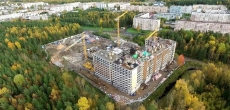 За апрель в Петербурге введено в эксплуатацию 22 тысячи «квадратов»