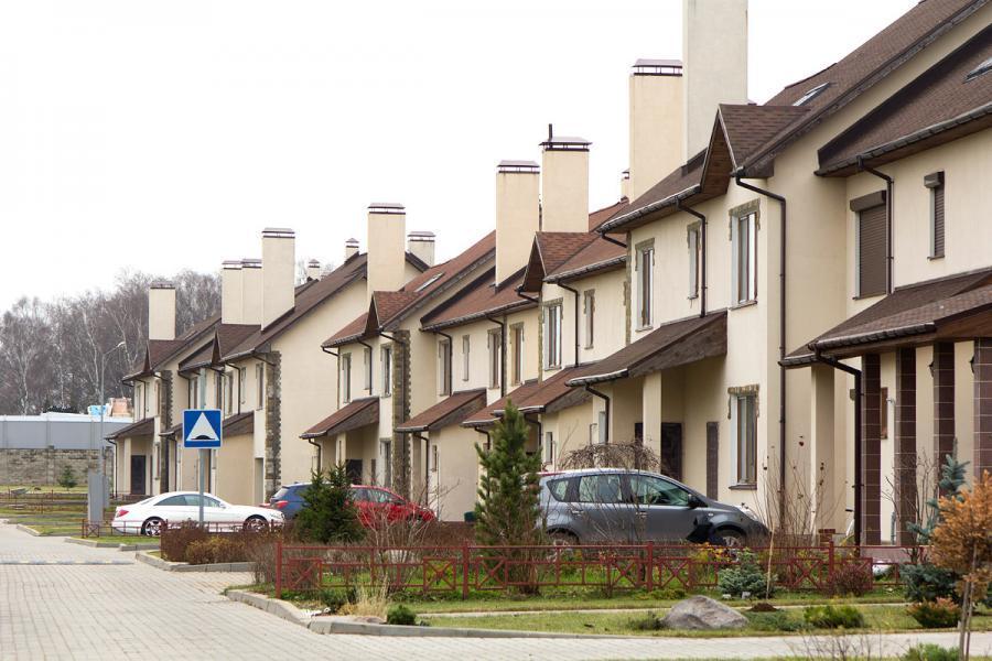 Фото коттеджного поселка Коровино от Enso. Коттеджный поселок