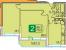 Планировка ЖК «Никольский квартал», 44.7 м2
