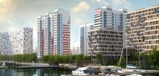 На воде: 4 жилых комплекса с собственными набережными в Москве по цене комфорт-класса