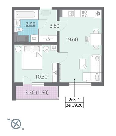 Продать Квартиры в новостройке Санкт-Петербург,  Калининский,  Академическая, Муринская дорога