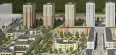 Компания «Ойкумена» перепроектирует выкупленную часть территории ЖК «Новоорловский», увеличив долю стрит-ритейла