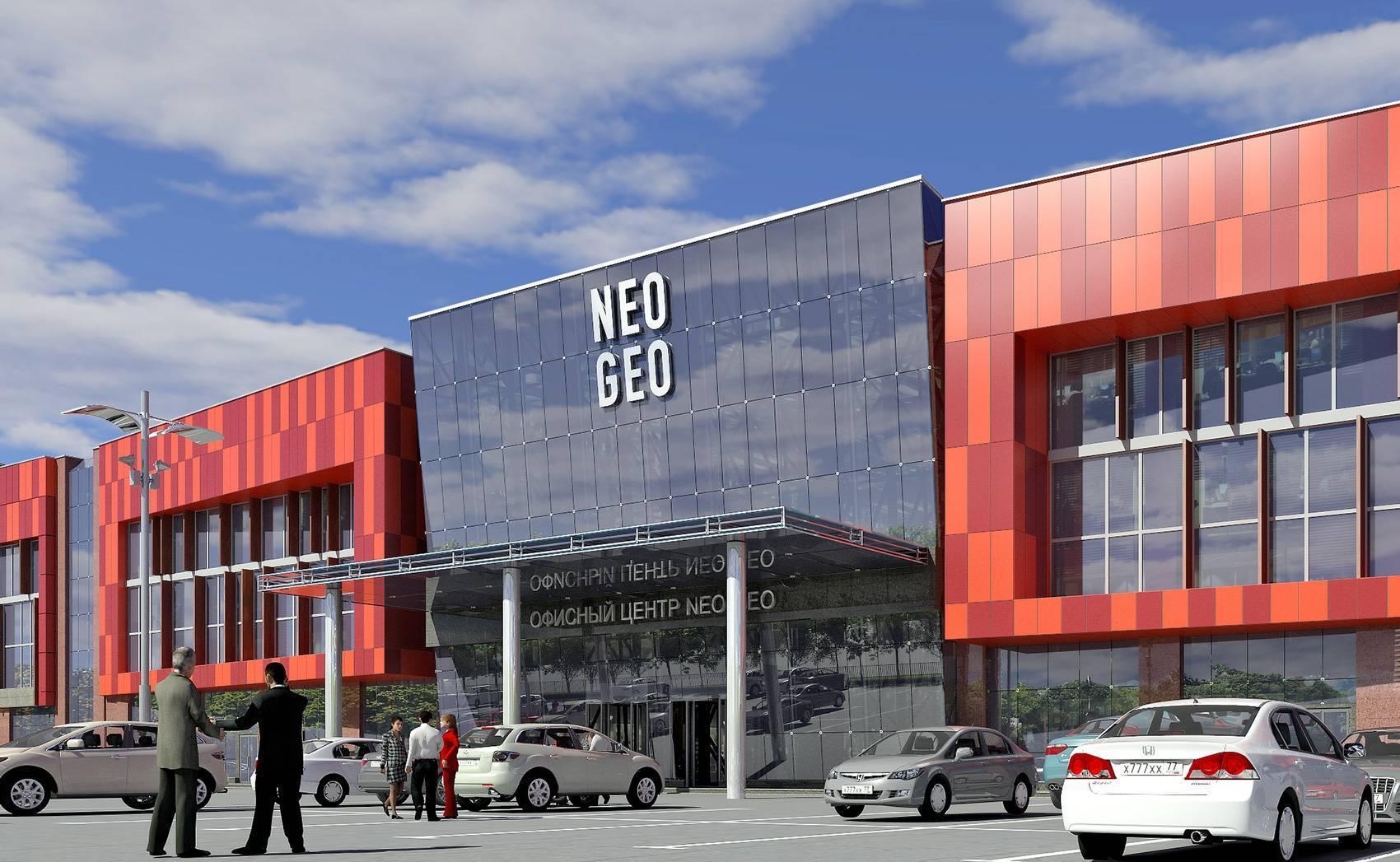 3c566f655264 Бизнес-центр Neo Geo, Бутлерова ул 17 - офисы в БЦ Neo Geo