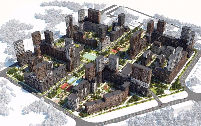 Начато строительство ЖК «Balance» в бывшей промзоне «Грайвороново»