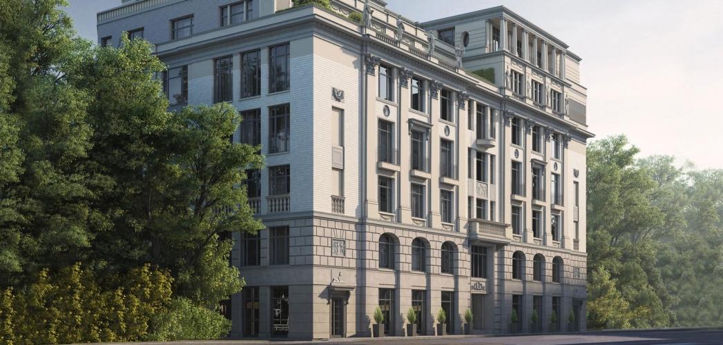 В центре Москвы построили элитный дом на 23 квартиры