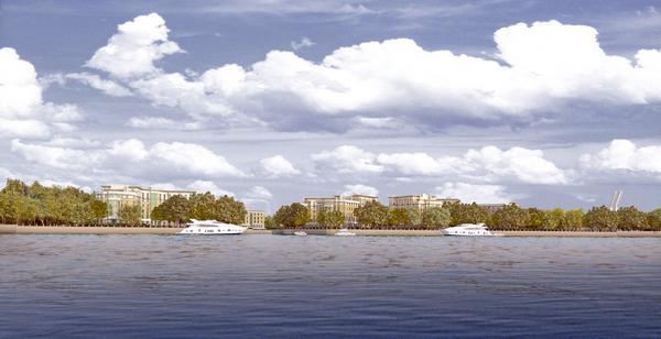 Продажи в первом петербургском проекте «Кортроса» на Петровском острове начнутся в апреле