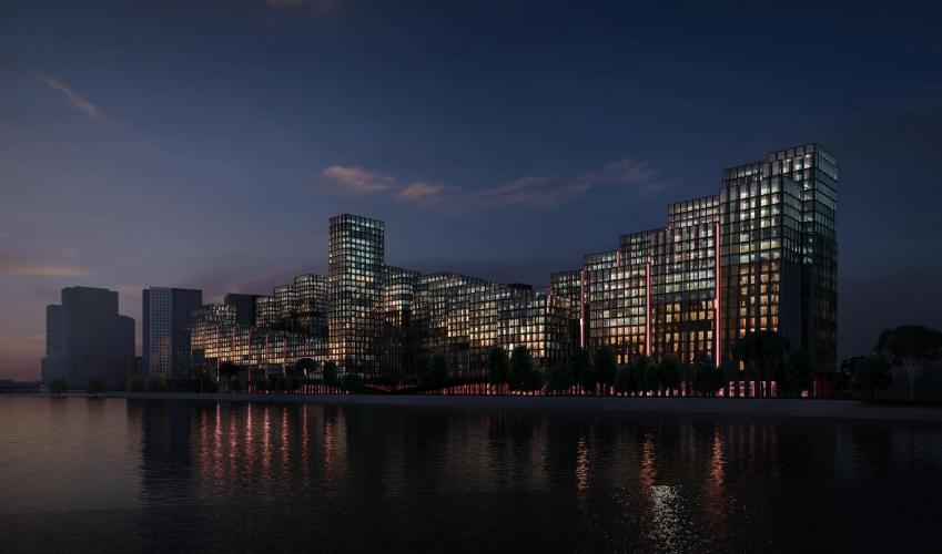 «Главстрой» построит вторую очередь ЖК «Береговой» почти на 2000 квартир