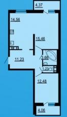 Фото планировки YouПитер от Арсенал-недвижимость. Жилой комплекс ЮПитер
