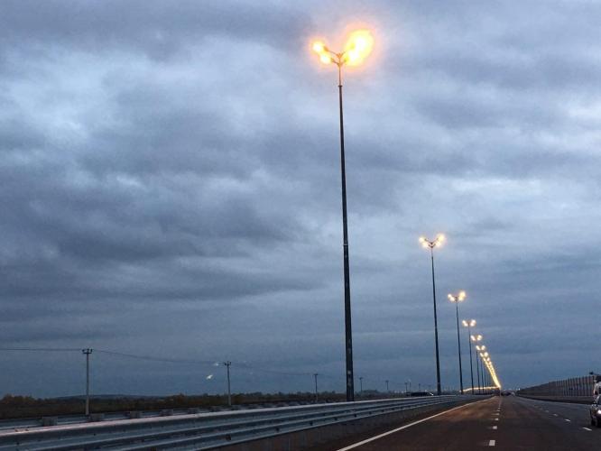 В Ленинградской области открыто движение по участку реконструированной трассы Р-23 Петербург – Белоруссия