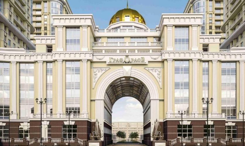 Компания Л1 вывела на рынок элитный корпус ЖК «Граф Орлов»: «Московский. Первая линия».