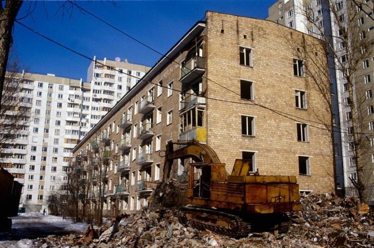 Второй этап реновации застроенных территорий Москвы предполагает возведение 70 млн кв. м недвижимости