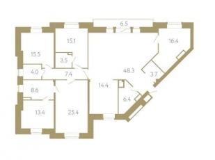 Фото планировки Крестовский IV от RBI. Жилой комплекс На Крестовском проспекте, 4, лит. А