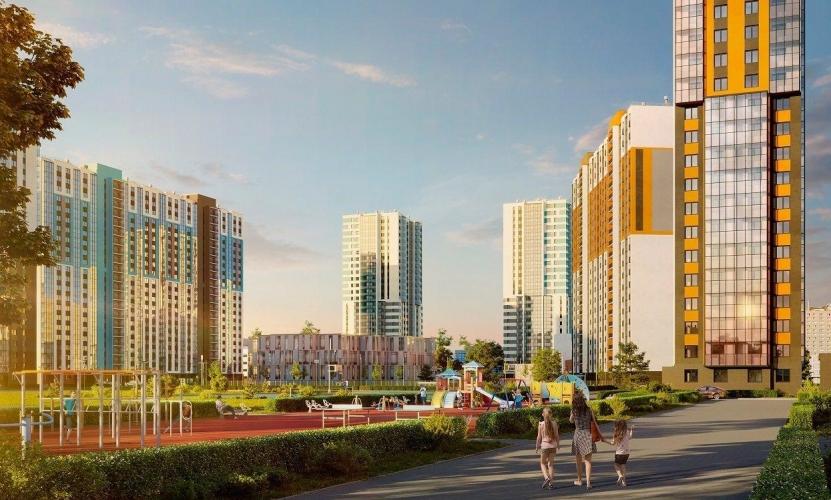 Стартовали продажи в четырех новых корпусах ЖК «Цветной Город»