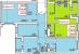 Планировка ЖК «Дом в Сосново», 39.58 м2
