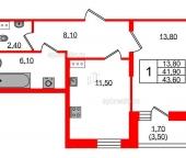 Продать Квартиры в новостройке Петергофское шоссе  11 Корпус 1