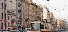 Половину трамвайных линий Петербурга ждет ремонт