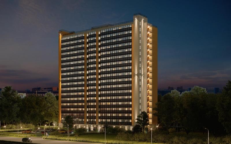 E3 Group открыла бронирование в апартамент-отеле «Avenue Apart на Дыбенко»