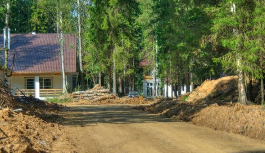 Фото коттеджного поселка Лесная усадьба от Atlas Development. Коттеджный поселок Lesnaya Usadba
